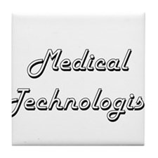 Medical Technologist Classic Job Desi Tile Coaster
