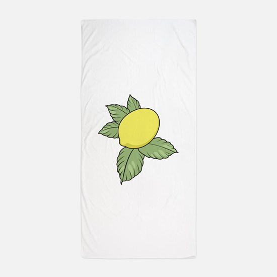 LEMON FRUIT Beach Towel
