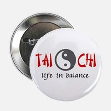 "TAI CHI LIFE IN BALANCE 2.25"" Button (100 pack)"