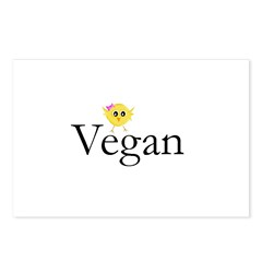 Vegan Chick Postcards (Package of 8)