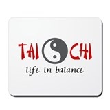 Tai chi Mouse Pads