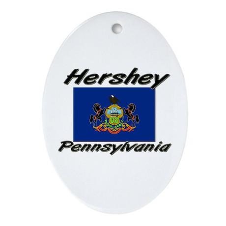 Hershey Pennsylvania Oval Ornament