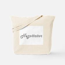 Negotiator Classic Job Design Tote Bag