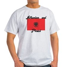 Albanian and Proud T-Shirt