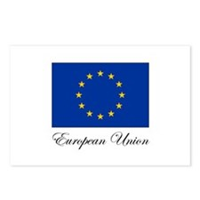 European Union - Flag Postcards (Package of 8)