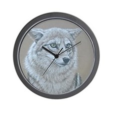 Wall Clock - Coyote