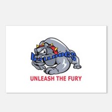 UNLEASH THE FURY Postcards (Package of 8)