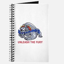 UNLEASH THE FURY Journal