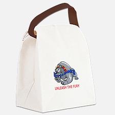 UNLEASH THE FURY Canvas Lunch Bag
