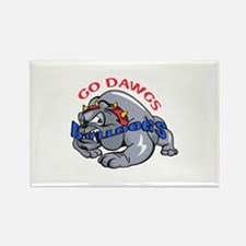GO DAWGS Magnets