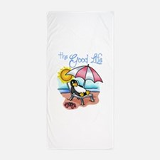 THE GOOD LIFE Beach Towel