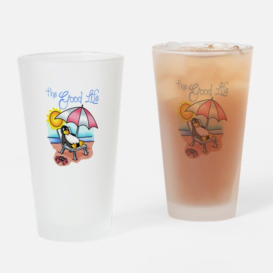 THE GOOD LIFE Drinking Glass