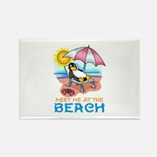 MEET ME AT THE BEACH Magnets