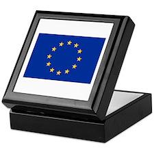 European Union Flag Keepsake Box