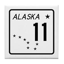 Route 11, Alaska Tile Coaster