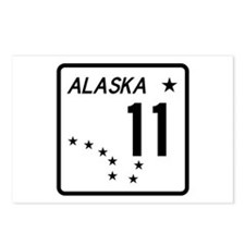 Route 11, Alaska Postcards (Package of 8)