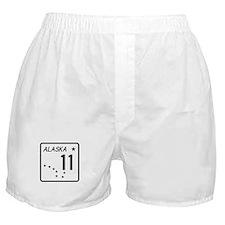 Route 11, Alaska Boxer Shorts