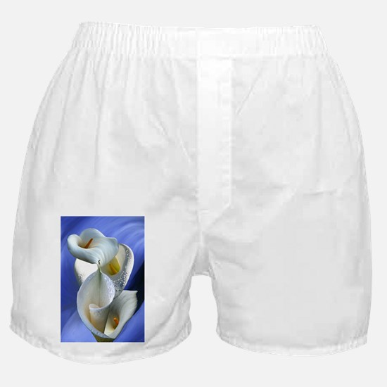 Calla Composition Boxer Shorts
