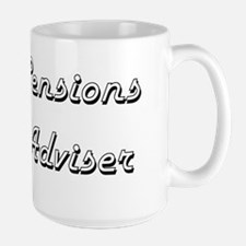Pensions Adviser Classic Job Design Mugs