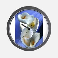 Calla Composition Wall Clock