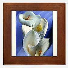 Calla Composition Framed Tile