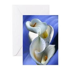 Calla Composition Greeting Cards