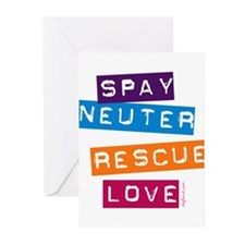 Unique Spay Greeting Cards (Pk of 20)