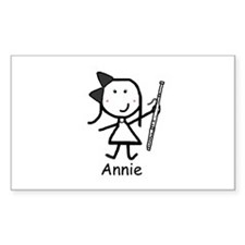 Bassoon - Annie Rectangle Decal