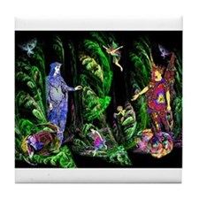 Faery Forest Tile Coaster