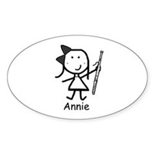 Bassoon - Annie Oval Decal