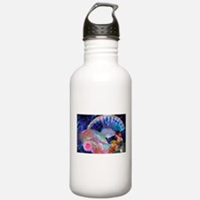 Fans and Roses Water Bottle