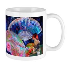 Fans and Roses Mugs