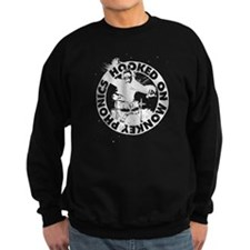 Hooked On Monkey Phonics - White Sweatshirt