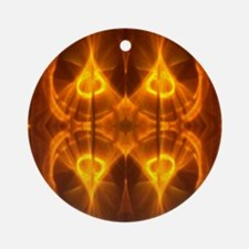 We Are Hot Twin Flames Round Ornament