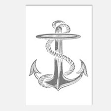 awesome vintage anchor Postcards (Package of 8)