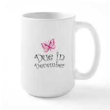 Due in December Maternity Mugs
