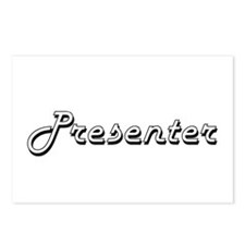 Presenter Classic Job Des Postcards (Package of 8)