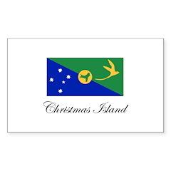 Christmas Island - Flag Rectangle Decal