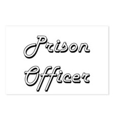 Prison Officer Classic Jo Postcards (Package of 8)