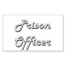 Prison Officer Classic Job Design Decal