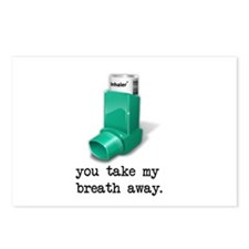 You Take My Breath Away Postcards (Package of 8)