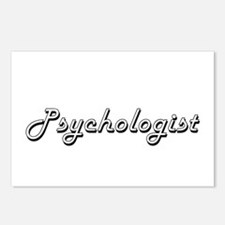 Psychologist Classic Job Postcards (Package of 8)