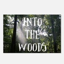 Unique Woods Postcards (Package of 8)