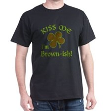 St. Patrick's Day - Kiss Me, I'm Brow T-Shirt