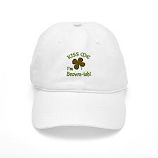St. Patrick's Day - Kiss Me, I'm Brownish Baseball Baseball Cap