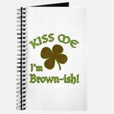 St. Patrick's Day - Kiss Me, I'm Brownish Journal