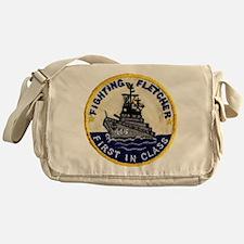 USS FLETCHER Messenger Bag
