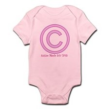 Baby Girl Copyright Body Suit