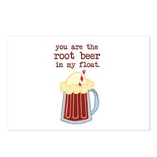 Root Beer to my Float Postcards (Package of 8)