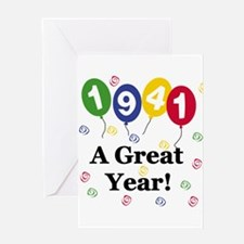 1941 A Great Year Greeting Card
